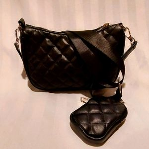 L.A. EXPRESS QUILTED CROSSBODY BAG